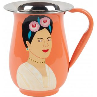 Carafe orange Frida en acier inoxydable